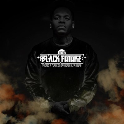 Jabee's Black Future album cover (Image provided)