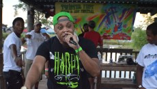 Rapper, Sturk, performing at Twister Fest in Chickasha, June 18, 2016. (Provided)