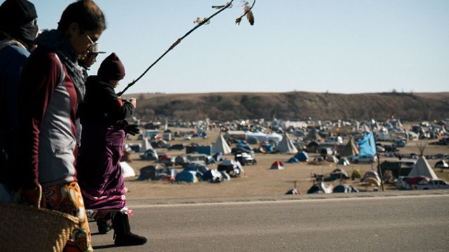 Photos from Standing Rock tribal protests at Standing Rock Sioux Indian Reservation in North Dakota. Taken week of Nov. 1 2016. MANDATORY CREDIT Wade Dunstan / for Oklahoma Gazette —NO ARCHIVE, ONE-TIME USE ONLY FOR 11.16 OKLAHOMA GAZETTE
