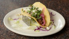 ​Braised oxtail taco at 1492, Friday, Dec. 16, 2016.  (Garett Fisbeck)