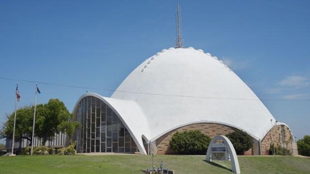 First Christian Church, 301 NW 36th St. OKC.  mh