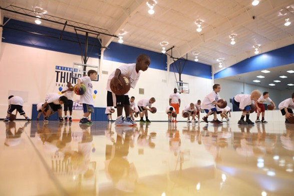 Thunder Youth Basketball Winter Camp is for youths ages 6-14. (Oklahoma City Thunder / provided)