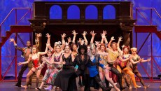 Housso Semon as Leading Player (center) and other members of the Pippin cast | Photo OKC Broadway / provided
