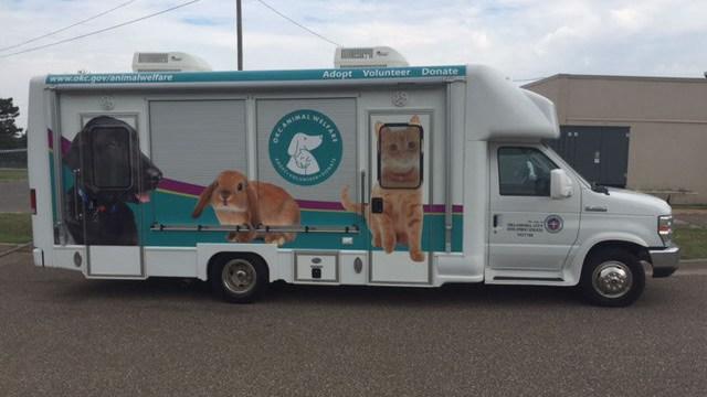 The City of Oklahoma City's Animal Welfare Waggin' Wagon | Photo provided