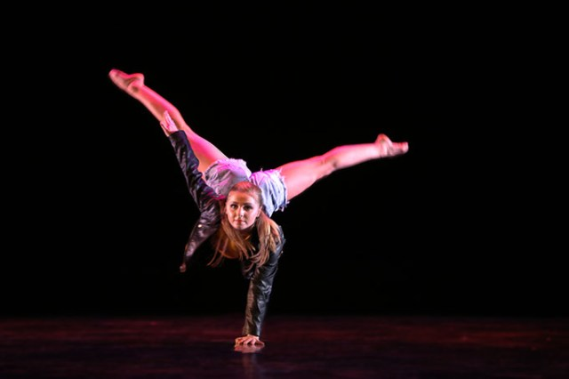 Baily Evans performs in <em>Tethered</em>. (Noor Eenaam / provided)