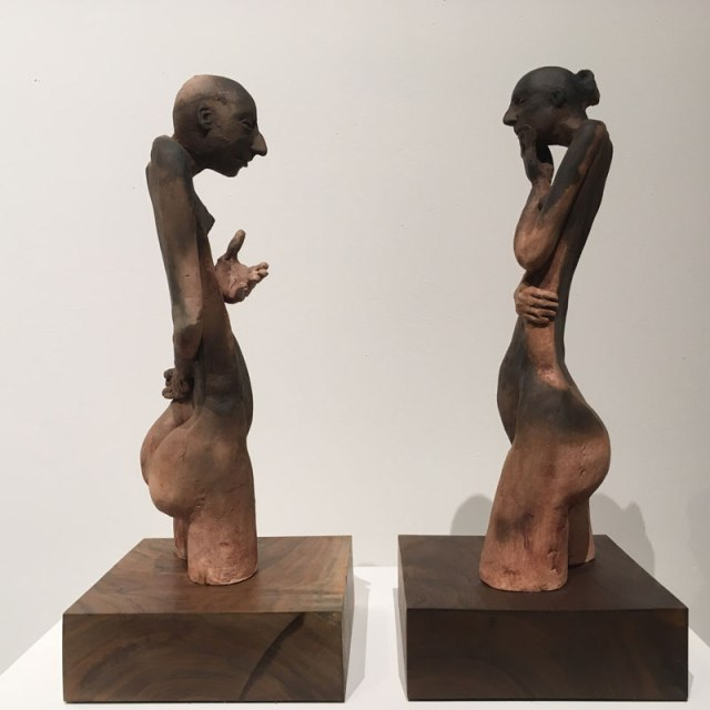 Sculptures by John Wolfe submitted for Current Studio's Art of the Month Club (Current Studio / provided)