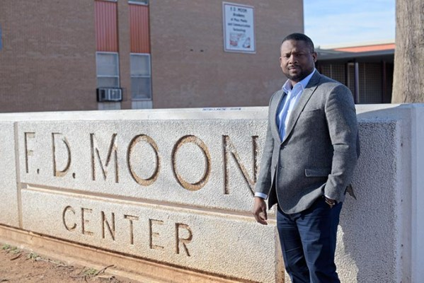 Sandino Thompson serves as a member of the Northeast Task Force, a group seeking to improve the educational outcomes at Spencer and northeast Oklahoma City schools. (Garett Fisbeck)