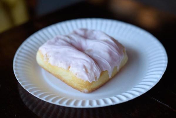 Strawberry milkshake doughnut (Garett Fisbeck)