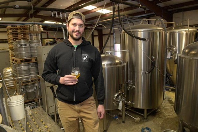 A reputation for excellence drives Roughtail cofounder and head brewer Tony Tielli to continue creating beers that exceed expectations. (Garett Fisbeck)