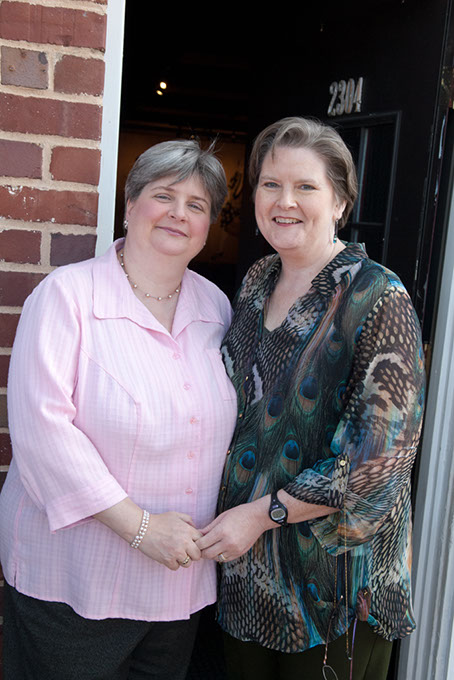 Sharon and Mary Bishop-Baldwin spent nearly 10 years in a legal battle to win the right to marry in Oklahoma. (Gazette / file)