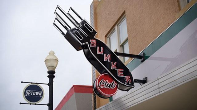 The Bunker Club, Tuesday, Feb. 28, 2017.  (Garett Fisbeck)