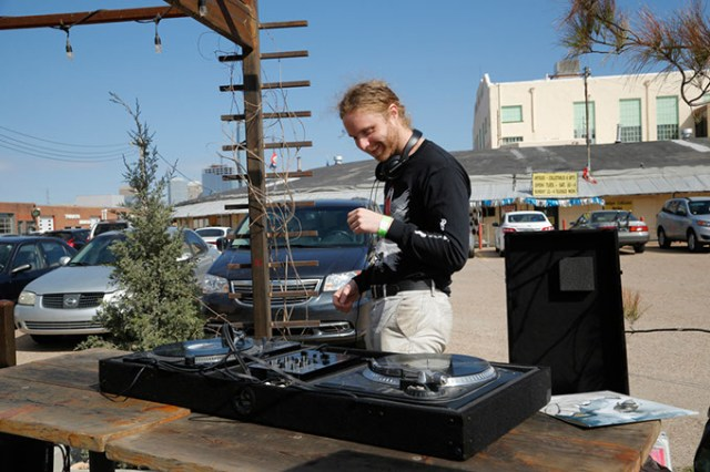 Taylor McKenzie performs as DJ Nowhere Sands, spinning many of the records he offers via his Nowhere Affiliated distribution service. (Garett Fisbeck / file)