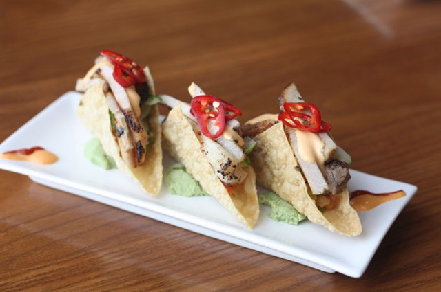 Seared pork belly tacos (Greg Elwell)