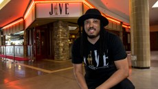 Owner David Threatt outside Jive Supper Club & Lounge, inside Plaza Mayor at the Crossroads mall, in OKC, 04-04-17.  (Mark Hancock)