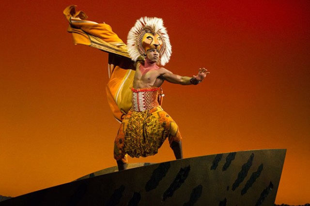 Dashaun Young portrays Simba in <em>The Lion King</em> North American Tour. (Joan Marcus / OKC Broadway / provided)