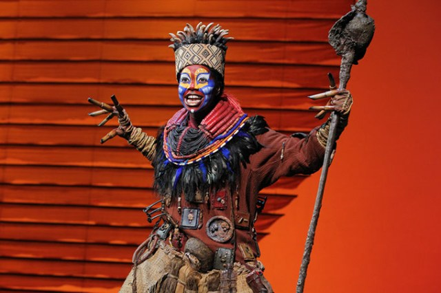 Cast members on <em>The Lion King</em> North American Tour perform about eight shows a week, which can be a physically demanding toll. (Joan Marcus / OKC Broadway / provided)