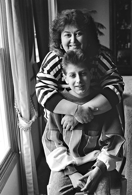 Ryan White and hits mother Jeanne White-Ginder (Jeanne White-Ginder / ryanwhite.com / Oklahoma AIDS Care Fund / provided)