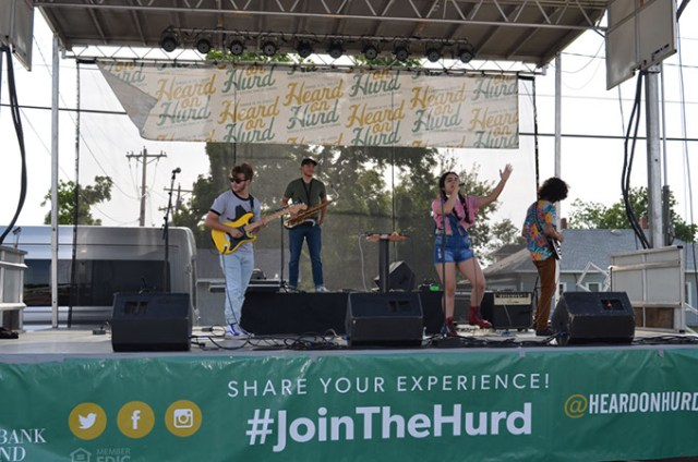 Heard on Hurd includes music and fun activities for the entire family. (Citizens Bank of Edmond / provided)