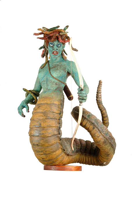Ray Harryhausen's Medusa model from the 1981 film <em>Clash of the Titans</em> (Andy Johnson for The Ray & Diana Harryhausen Foundation / provided)