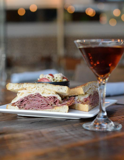 Pastrami Reuben at The Manhattan OKC (Garett Fisbeck)