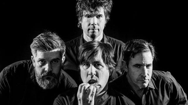 December 20, 2016. Durham, North Carolina.Promotional photographs of The Mountain Goats for their new album GOTHS