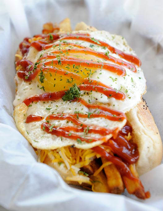 Hair of the Dog at Mutt's Amazing Hot Dogs (Garett Fisbeck / file)