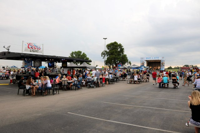 Organizers said they expect up to 8,000 guests to attend Riverwind Casino's Aug. 12 Beats & Bites street festival event. (provided)