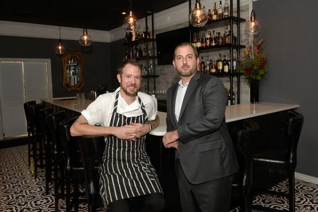 Jonathon Stranger and Drew Tekell  opened St. Mark's Chop Room & Bar  Aug. 8.