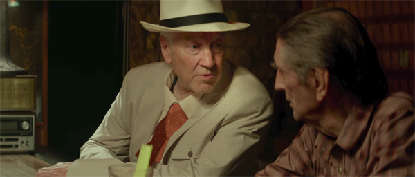 <em>from left</em> David Lynch and Harry Dean Stanton star in <em>Lucky</em>, which screens at Sooner Theatre as part of the first Norman Film Festival. (Norman Film Festival / provided)