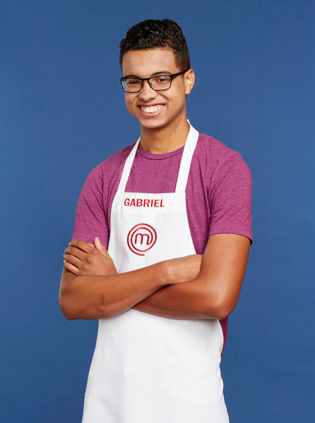 Gabriel Lewis (<em>MasterChef</em> / provided)