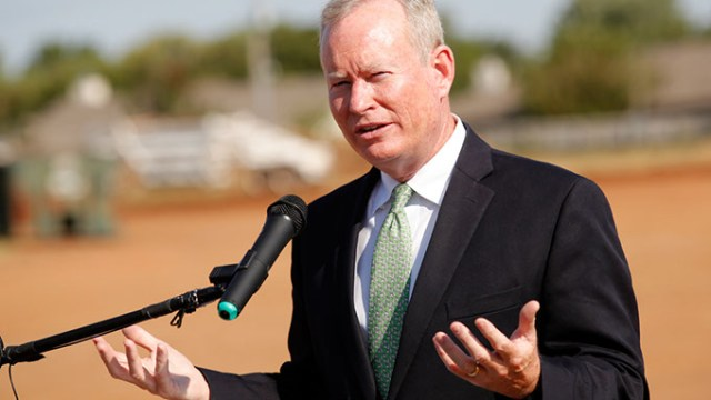During Mayor Mick Cornett's four terms, he has led the city through one general obligation bond program and the MAPS 3 sales tax initiative. Tuesday, voters decide whether to back the 2017 General Obligation Bond program and two sales tax initiatives. | Photo Gazette / file