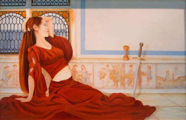 """Lady in Red"" by Michael Pearce (Michael Pearce / Oklahoma City University / provided)"