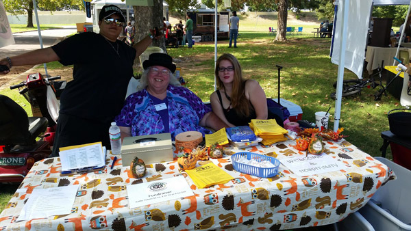OKC Pagan Pride Day collected more than 270 pounds of food donations during last year's annual drive. (OKC Pagan Pride Day / provided)