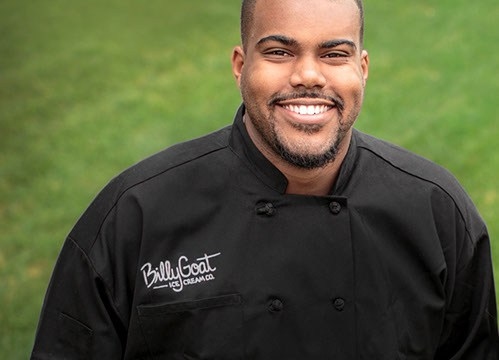 RaShaun Robinson founded Billy Goat Ice Cream while in the MBA program at Oklahoma State University. | Photo provided