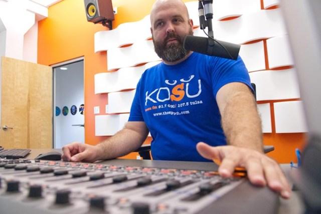 KOSU operations director Ryan LaCroix (<em>Gazette</em> / file)