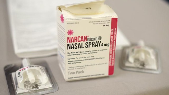 Narcan, a nasal spray that can reverse an overdose, is available for sale at many pharmacies without a prescription and can be obtained at no cost at seven treatment centers in Oklahoma City. | Photo Garett Fisbeck