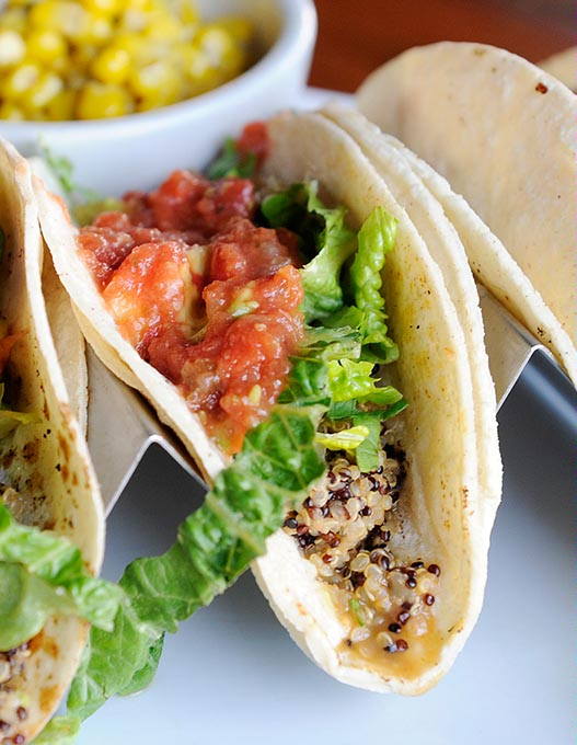 Quinoa tacos at Picasso Cafe (Garett Fisbeck / file)