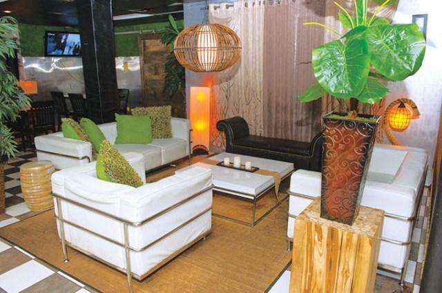 The interior of La Brasa looks more like a club than a restaurant. (Gazette / file)