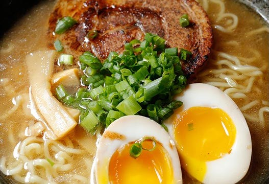 Tonkotsu at Tamashi Ramen in Oklahoma City, Friday, June 12, 2015.  (Garett FIsbeck)