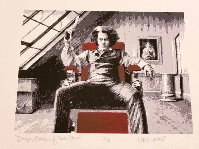 """Demon Barber of Fleet Street"" by Van Lango (provided)"