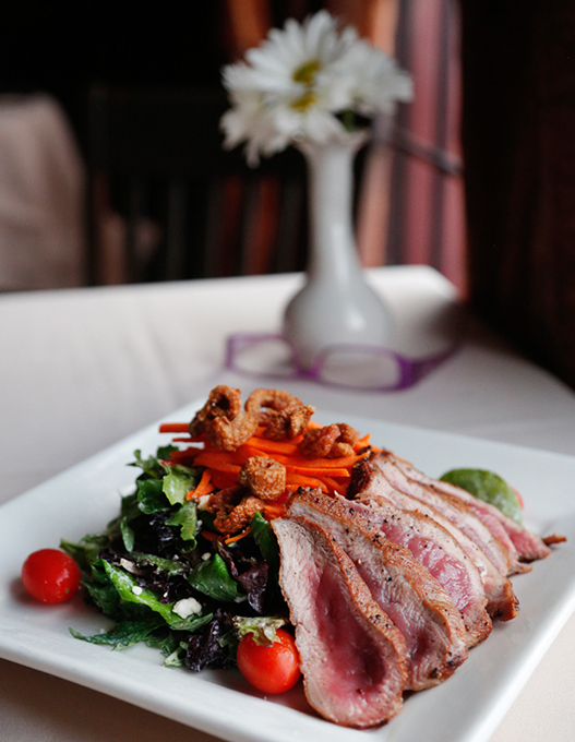 Maple Leaf Duck Salad at Paseo Grill (Gazette / file)