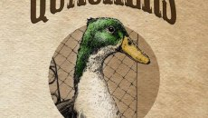 Pen-and-ink drawings in Quackers: A Duck's Tale were drawn by Kathryn McGaha.   Image provided