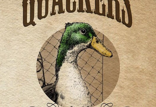Pen-and-ink drawings in Quackers: A Duck's Tale were drawn by Kathryn McGaha. | Image provided