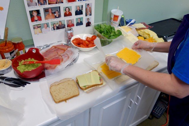 Guests have a chance to select a custom grilled cheese for the Early Foundations fundraiser. (Oklahoma Autism Center / provided)