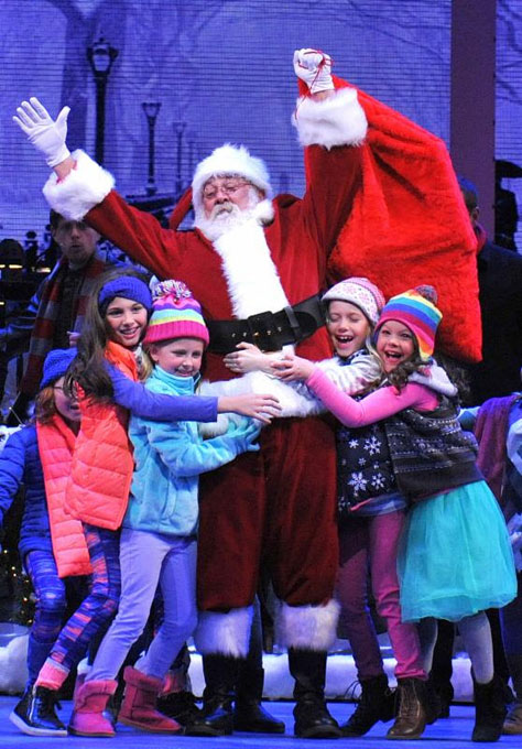 Santa Claus will have a larger role in this year's OKC Phil original performance of <em>The Christmas Show</em>. (Oklahoma City Philharmonic / provided)