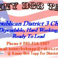 Kenny Bob Tapp for Dist 3 Chair -- Oklahoma Republican Party