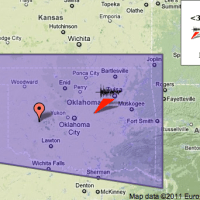 Earthquake Tremors and Reports in Oklahoma 11-5-11 -- Ceiling Shook Felt Earth Move