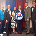 Steve Dickson with the CD05 Delegates and Alternates 2012 RNC