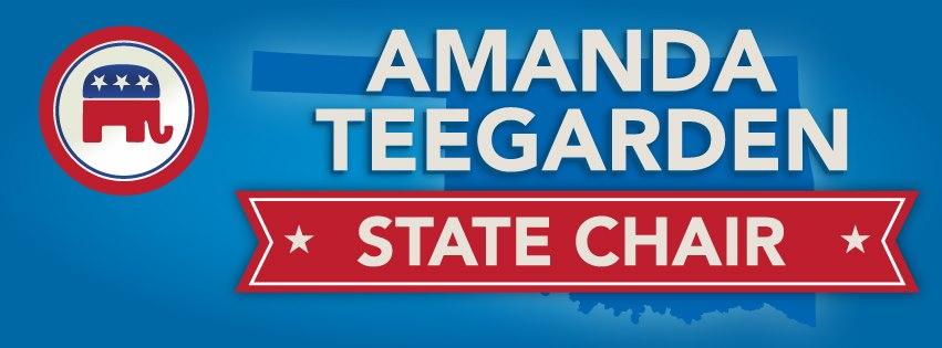 Steve Dickson RNC Delegate 2012 and Precinct Chair Oklahoma County Endorses Amanda Teegarden