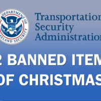 Public Service Announcement: The TSA's 12 Banned Items of Christmas